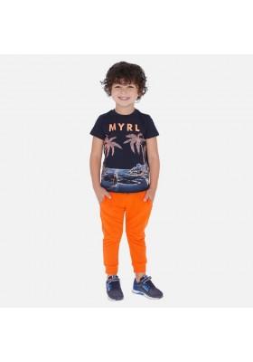 Pantalon felpa basico puños de MAYORAL para niño modelo 742
