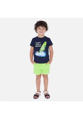 Bermuda felpa basica de MAYORAL para niño modelo 611