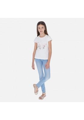 Pantalon cerrado tejano basic de MAYORAL para niña modelo 554