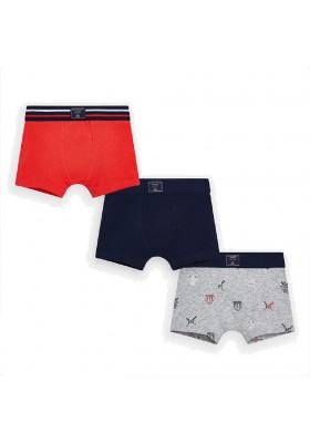 Set 3 boxer estampado/lisos de MAYORAL para niño modelo 10770