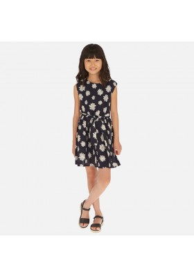 Vestido margaritas de MAYORAL para niña modelo 6965