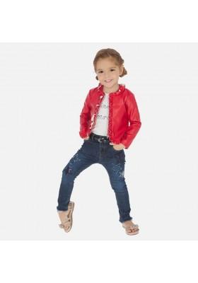 Pantalon largo tejano fantasi de MAYORAL para niña modelo 3542