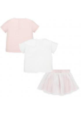 Conjunto falda 3 piezas de MAYORAL para bebe niña modelo 1950