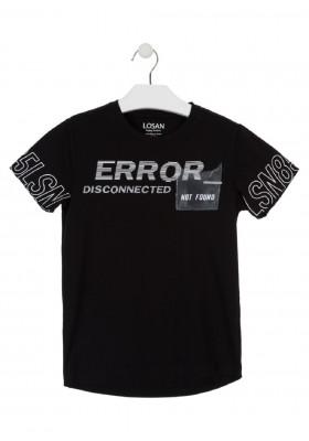 camiseta manga corta prints en mangas de LOSAN para niño modelo 013-1024AL