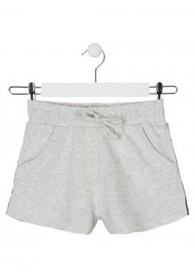 short de felpa no perchada de LOSAN para niña modelo 014-6014AL