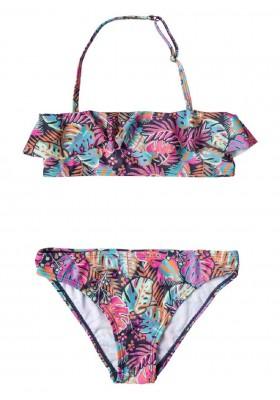 bikini estampado de LOSAN para niña modelo 014-4043AL