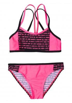 bikini estampado de LOSAN para niña modelo 014-4003AL