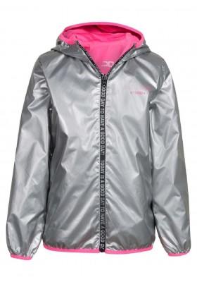 parka reversible con capucha de LOSAN para niña modelo 014-2001AL