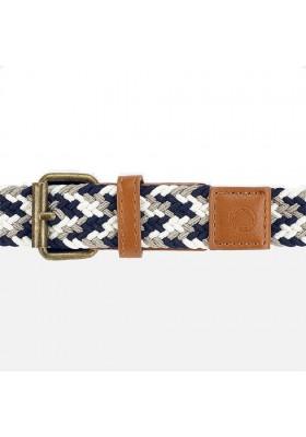Cinturon trenzado multicolor de MAYORAL para niño modelo 10801