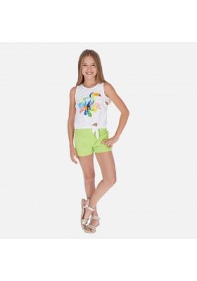 Conjunto short tucan de MAYORAL para niña modelo 6265