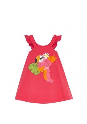 Vestido bordado de MAYORAL para niña modelo 3962