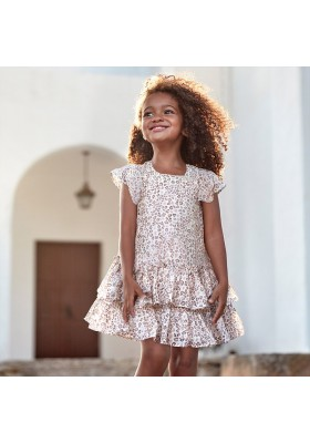 Vestido volante de MAYORAL para niña modelo 3957
