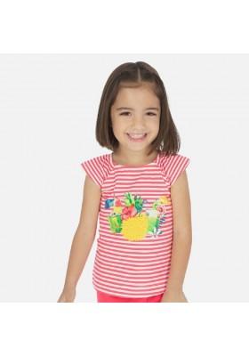 Camiseta tirantes rayas de MAYORAL para niña modelo 3028