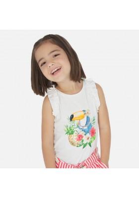 Camiseta tirantes tucan de MAYORAL para niña modelo 3025