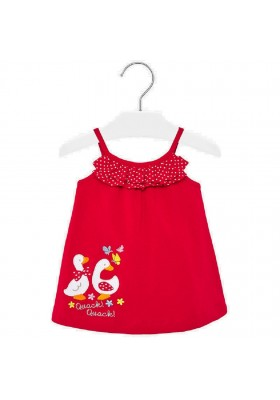 Vestido punto aplique de MAYORAL para bebe niña modelo 1944