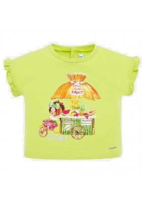 Camiseta manga corta de MAYORAL para bebe niña modelo 1064