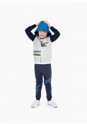 pantalon de felpa no perchada de LOSAN para niño modelo 015-6032AL
