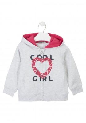 chaqueta de felpa no perchada de LOSAN para niña modelo 016-6650AL