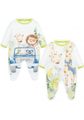Set 2 pijamas largos de Mayoral para bebe niño modelo 1780