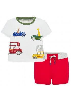 Conjunto pantalon corto sarga de Mayoral para bebe niño modelo 1278