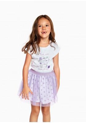 falda toda estampada de LOSAN para niña modelo 016-7062AL