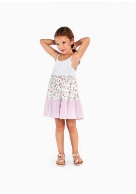 vestido de tirantes de LOSAN para niña modelo 016-7030AL