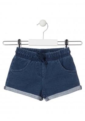 short con bolsillos de LOSAN para niña modelo 016-6651AL