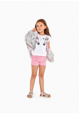 chaqueta toda estampada de LOSAN para niña modelo 016-6000AL