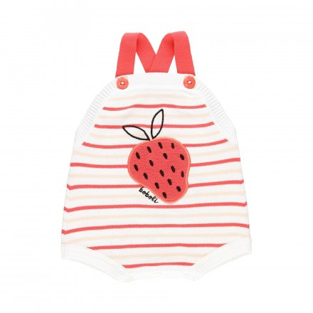 Pelele tricotosa corto de bebé BOBOLI modelo 149048