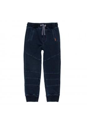 Pantalón felpa denim de niño Boboli modelo 501118