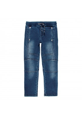 Pantalón denim punto elástico de niño Boboli modelo 501163