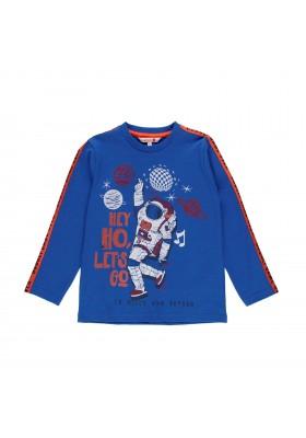 Camiseta punto liso de niño Boboli modelo 521019