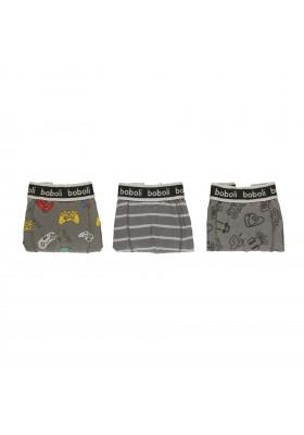 Pack 3 boxers de niño Boboli modelo 931047