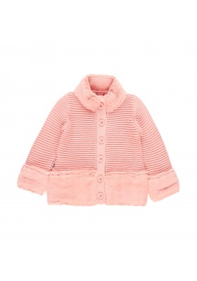 Chaqueta tricotosa de bebé niña Boboli modelo 241153