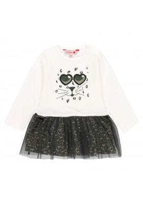 Vestido punto combinado de bebé niña Boboli modelo 211026