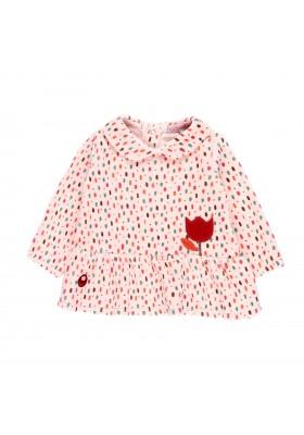 Vestido terciopelo de bebé niña Boboli modelo 121026
