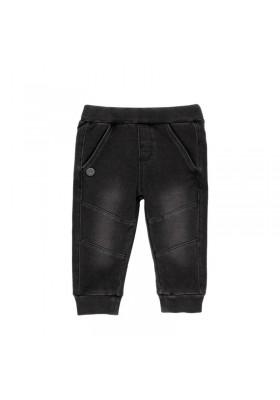 Pantalón felpa denim de bebé niño Boboli modelo 390013