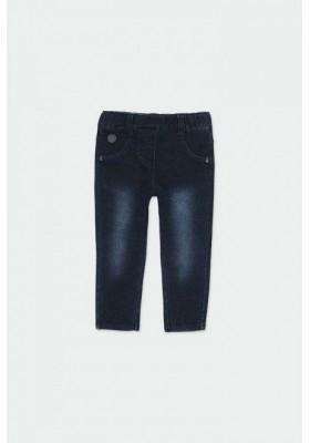 Pantalón felpa denim de bebé niña Boboli modelo 290001