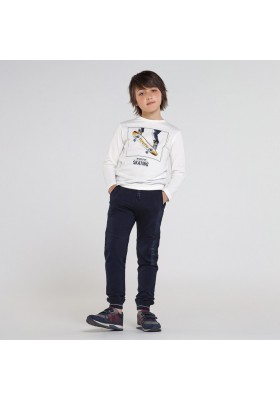 Pantalon felpa elastica Niño de Mayoral modelo 7529