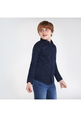 Camisa manga larga estampada Niño de Mayoral modelo 7129