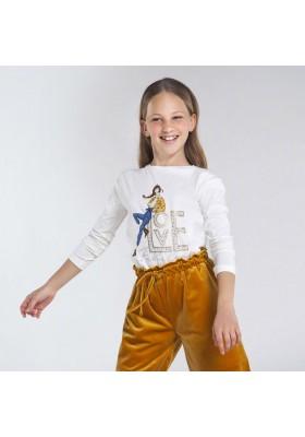 "Camiseta manga larga ""love"" Niña de Mayoral modelo 7068"