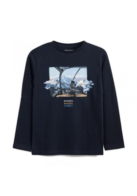 """Camiseta manga larga """"wonder"""" Niño de Mayoral modelo 7059"""
