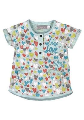 Vestido bebe niña BOBOLI estampado corazones 223085