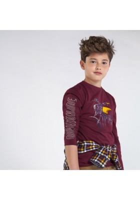 Camiseta manga larga downtowm Niño de Mayoral modelo 7054