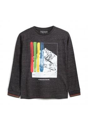 Camiseta manga larga patentes Niño de Mayoral modelo 7052