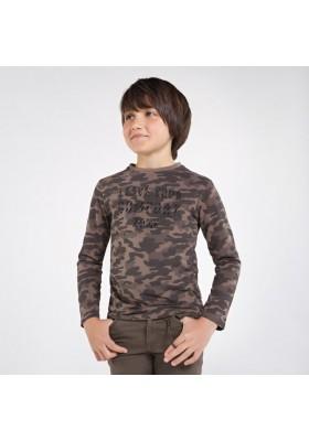 Camiseta manga larga camuflaje Niño de Mayoral modelo 7046