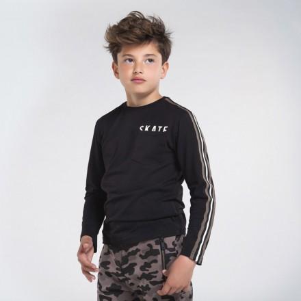 Camiseta manga larga bolsillo Niño de Mayoral modelo 7045