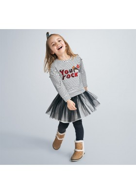 Conjunto falda tul niña de Mayoral modelo 4993