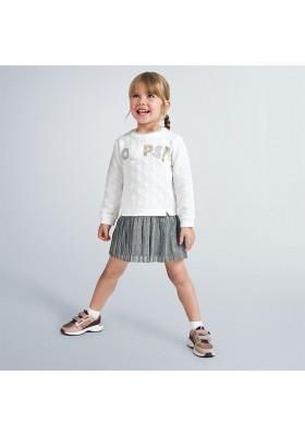 Vestido invierno combinado niña de Mayoral modelo 4989