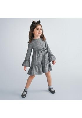 Vestido invierno cuadro gales niña de Mayoral modelo 4983